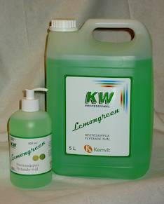 Nestesaippua 5L KW Lemongreen - Saippuat ja annostelijat - 131948 - 1