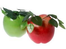 Omena punainen iso 16.5x16.5x18cm - Piensisustaminen - 139858 - 1
