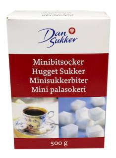 Palasokeri DANSUKKER 500g mini - Sokerit ja muut makeutusaineet - 120958 - 1