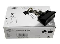 Paperipuristin 51mm WEDO - Paperiliittimet ja puristimet - 103458 - 1