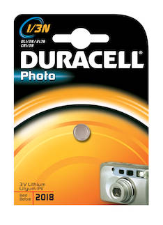 Paristo DURACELL CR11108 Photo 1/3N - Paristot - 131808 - 1
