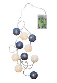 Puuvillapallosarja led 8 Minni AIRAM - Jouluun valot,koristeet,tekstiilit - 153938 - 1