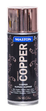 Spraymaali copper 400ml - Maalaustarvikkeet - 136308 - 1