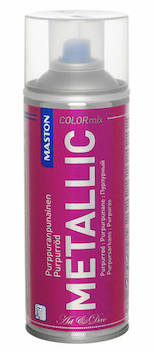 Spraymaali metallic 400ml - Maalaustarvikkeet - 136298 - 1