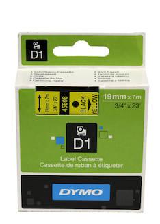 Tarranauha DYMO 19mmx7m 45808 - Tarra- ja kohokirjoitinteipit Dymo - 104078 - 1