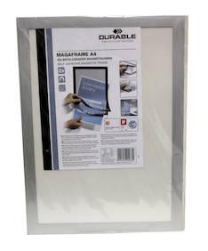 Magneettitarratasku A4 DURABLE Duraframe - Muut taskut - 126758 - 1