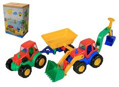 Traktori 2 eril. - Lelut - 117978 - 1