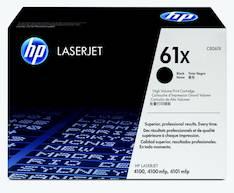 Värikasetti HP 61X C8061X laser - HP laservärikasetit ja rummut - 100788 - 1