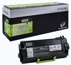 Värikasetti LEXMARK 522X laser - Lexmark laservärikasetit ja rummut - 131158 - 1