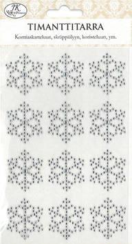 Timantti Tarra-arkki lumihiutale - Tarrat ja tarrakirjat - 153468 - 1