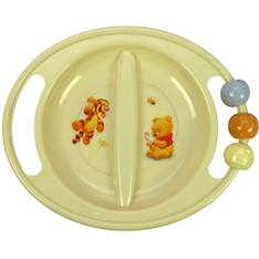 ABC-lautanen, 2-os. MIKRO Baby Pooh - Ruuanvalmistustarvikkeet - 143519 - 1