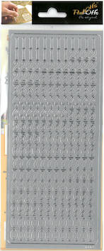 Ääriviivatarra numerot - Tarrat ja tarrakirjat - 136009 - 1