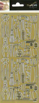 Ääriviivatarra työkalut - Tarrat ja tarrakirjat - 148669 - 1