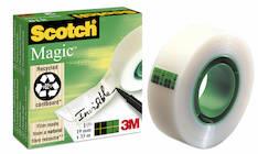 Asiakirjateippi SCOTCH 810 19mmx33m - Asiakirjateipit - 104549 - 1