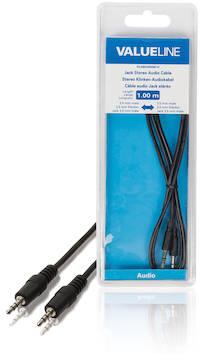 Audiokaapeli 3.5mm - 3.5mm 1m - Kaapelit ja kaapelikourut, jatkojohdot - 139129 - 1