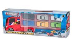 Autonkuljetusrekka ja 6kpl autoja - Lelut - 149959 - 1