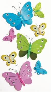 Butterflies-tarra-arkki - Askartelutarvikkeet - 137289 - 1