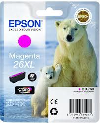 EPSON T2633 mustesuihku 26XL - Epson mustesuihkuväripatruunat - 137069 - 1
