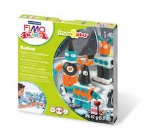 Fimo form&play robot - Askartelutarvikkeet - 137859 - 1