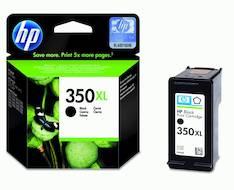 HP 350XL CB336EE mustesuihku - HP mustesuihkuväripatruunat - 117589 - 1
