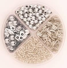 Helmilajitelma 30g 90x10mm hopea - Askartelutarvikkeet - 137719 - 1