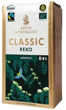 Kahvi Classic Reko 450g tumma paahto - Kahvit,teet ja kaakaot - 128529 - 1