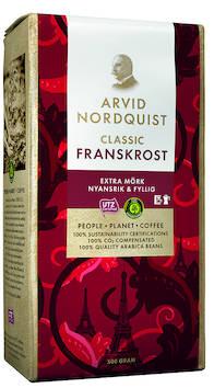 Kahvi NORDQUIST Franskrost Classic 500g - Kahvit,teet ja kaakaot - 145079 - 2