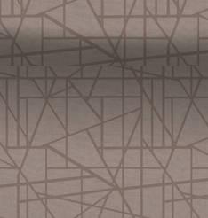 Kaitaliina DUNI 0,4x24m Maze Greige - Pöytäliinat - 133239 - 1