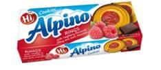 Keksi suklaavadelmatäyte Alpino 150g - Keksit ja korput - 150689 - 1