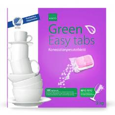Kiilto Green Easy Tabs konetiskitabletti - Pesu- ja puhdistusaineet - 152309 - 1
