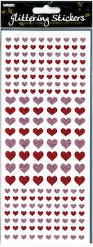 Kimalletarra sydämet - Tarrat ja tarrakirjat - 135979 - 1