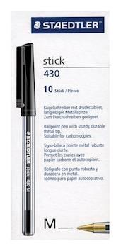 Kuulakynä STAEDTLER Stick Medium - Kuulakynät - 131959 - 1