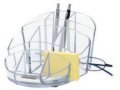 Kynäteline WEDO Rotondo 9-os - Kynäpurkit, tarvikelokerot - 127039 - 1