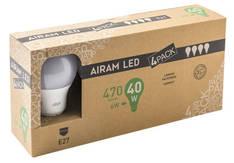 Kynttilälamppu Led E27 470lumen AIRAM - Varalamput ja loisteputket - 150769 - 1