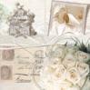 Lautasliina 33x33cm wedding memories fsc - Servietit ja lautasliinat - 143769 - 1