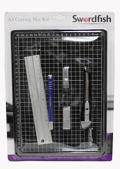 Leikkuualustasettti A4 SWORDFISH 44050 - Paperileikkurit - 118989 - 1