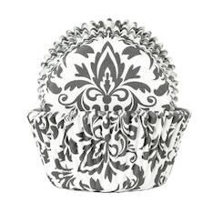 Muffinssivuoka (50 kpl) ornamentti, paperia - Ruuanvalmistustarvikkeet - 136899 - 1