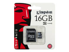 Muistikortti KINGSTON MicroSDHC 16GB - USB muistitikut ja kortit - 151559 - 1