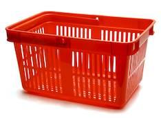 Ostoskori/myymäläkori DURABLE - Esitetelineet ja tarvikkeet - 120849 - 1