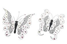 Seinädeco perhonen lajitelma - Taulut ja kehykset - 139989 - 1