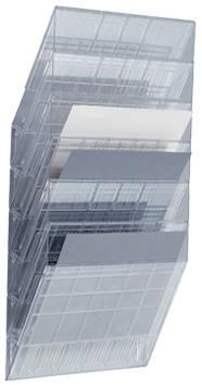 Seinäteline A4/6-os DURABLE Flexibox - Esitetelineet ja tarvikkeet - 131919 - 1