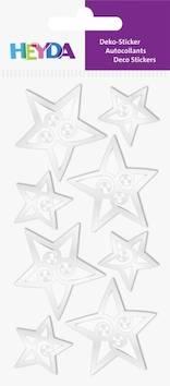 Silver stars tarra-arkki - Tarrat ja tarrakirjat - 143609 - 1
