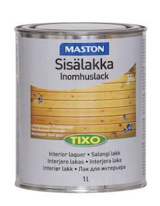 Sisälakka tixo 1l puolihimmeä - Maalaustarvikkeet - 136399 - 1