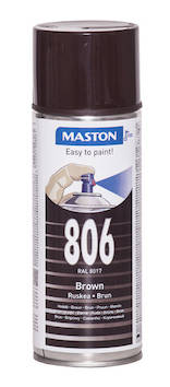 Spraymaali 100 400ml ral8017 - Maalaustarvikkeet - 136249 - 1