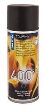 Spraymaali kuumakesto 400c 00ml - Maalaustarvikkeet - 136309 - 1