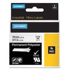Tarranauha DYMO Rhino 19mm polyesteri - Tarra- ja kohokirjoitinteipit Dymo - 145999 - 1