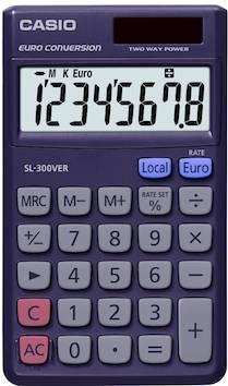Taskulaskin CASIO SL-300VER - Taskulaskimet - 104329 - 1