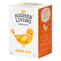 Tee Higher Living Inkivääri Luomutee - Kahvit,teet ja kaakaot - 153679 - 1
