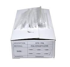 Tekstiilikiinnike 25mm 5000kpl - Tekstiilipistoolit ja tarvikkeet - 110159 - 1