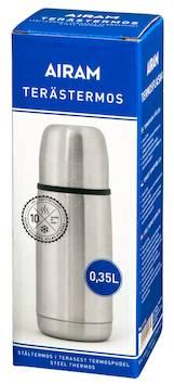 Terästermospullo 0,35 l - Ruuanvalmistustarvikkeet - 139499 - 1